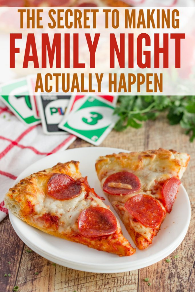 Secret to Family Night
