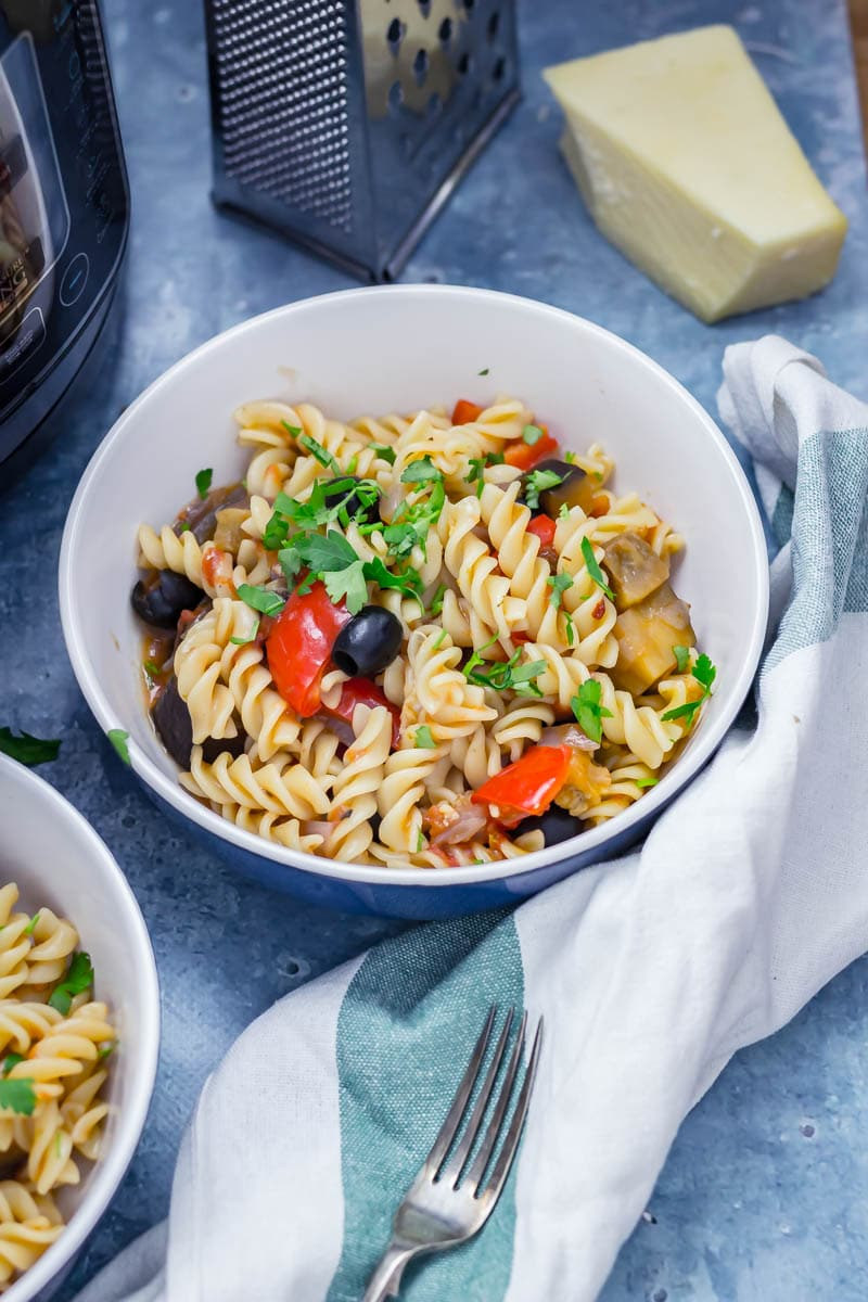 Pressure Cooker Pasta Recipes