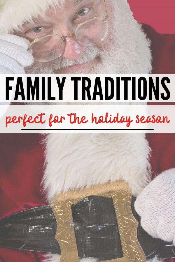 fun holiday family traditions