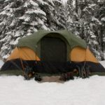 how to tent camp in the winter