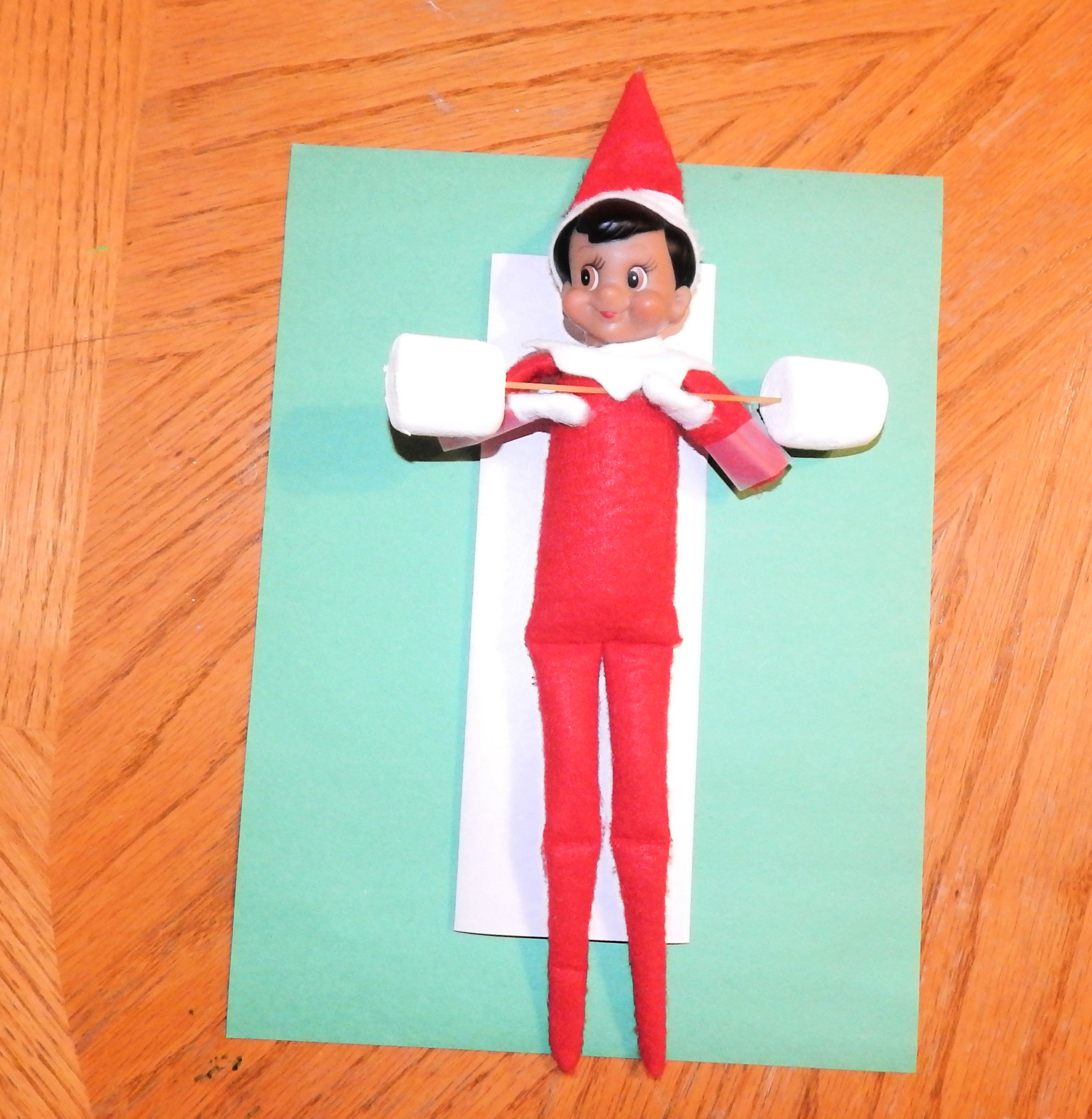 Elf On The Shelf Exercising