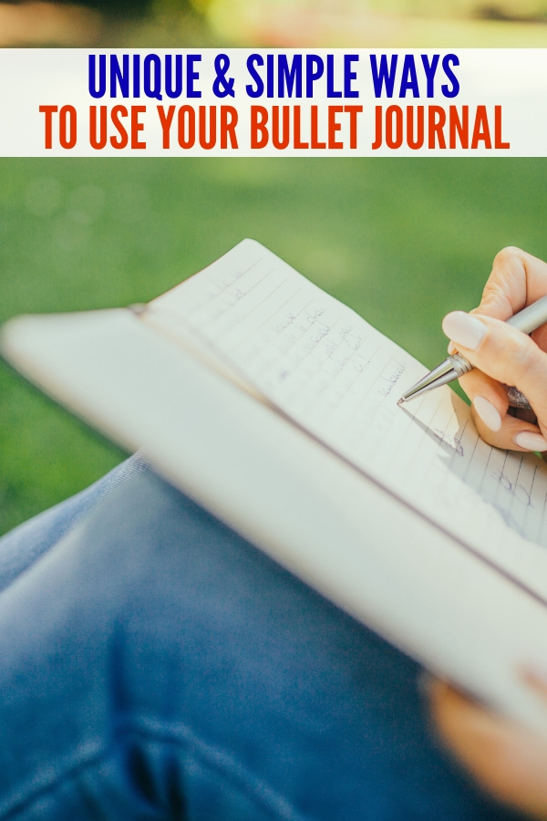 Looking for ideas to write in your bullet journal? You'll love these tips and ideas! #onecrazyhouse #bulletjournal #bulletjournalideas #writing