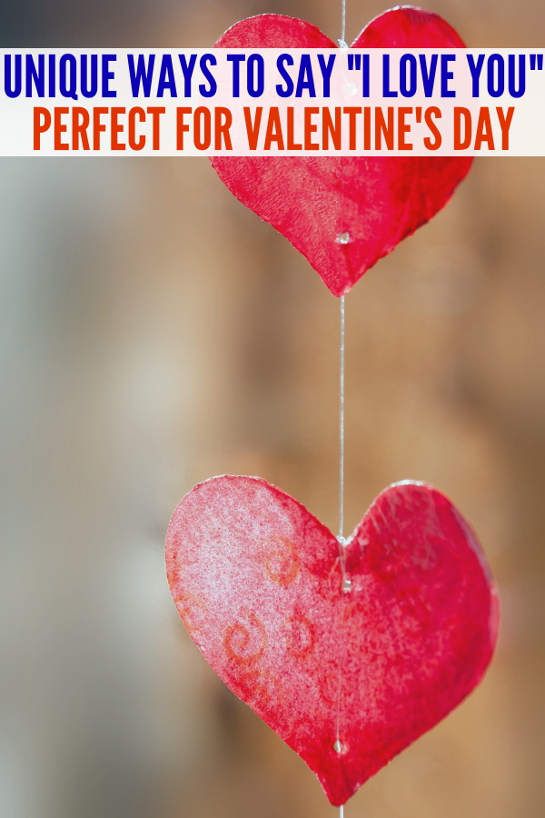 If you are searching for ways to say I love You, these simple tips are perfect to show someone just how much you care! Valentine's Day ideas are the best! #onecrazyhouse #sayIloveyou #valentinesday #love