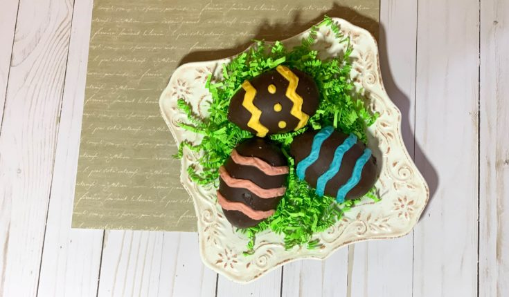 coconut chocolate eggs