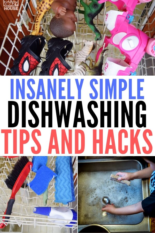 dishwashing tips and hacks