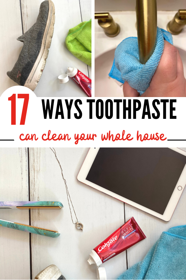 17 ways you can clean with toothpaste