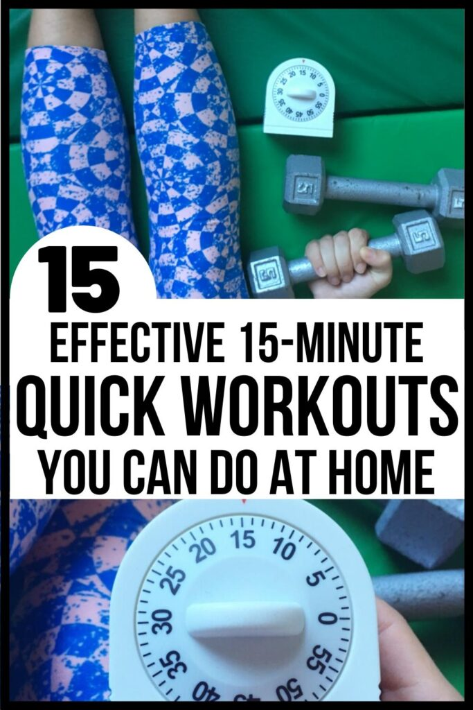 effective quick at home workouts post pin image A