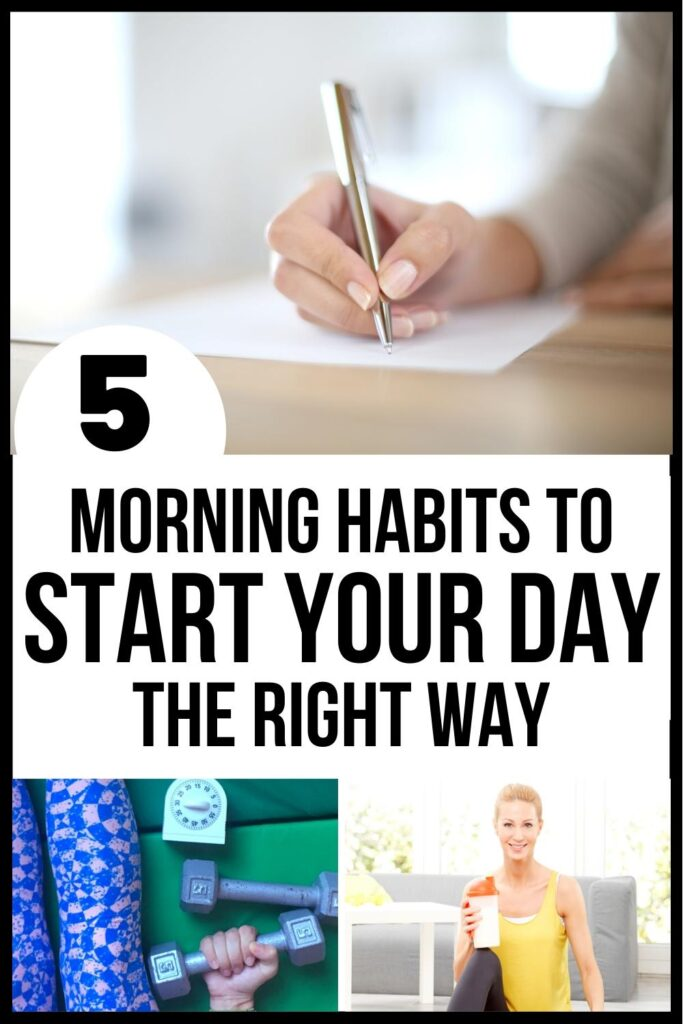start your day right pin image A