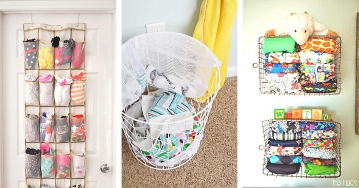 15 Genius Baby Clothes Organization Ideas To Use In Your Nursery