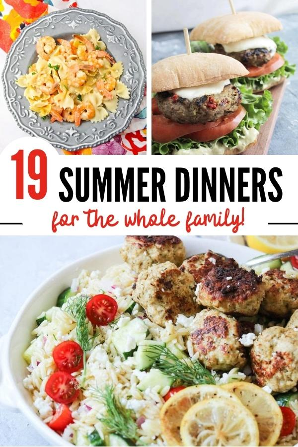 19 Quick and Easy Summer Dinner Recipes
