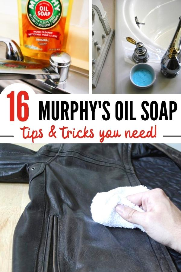 Murphy's Oil Soap uses pin image B
