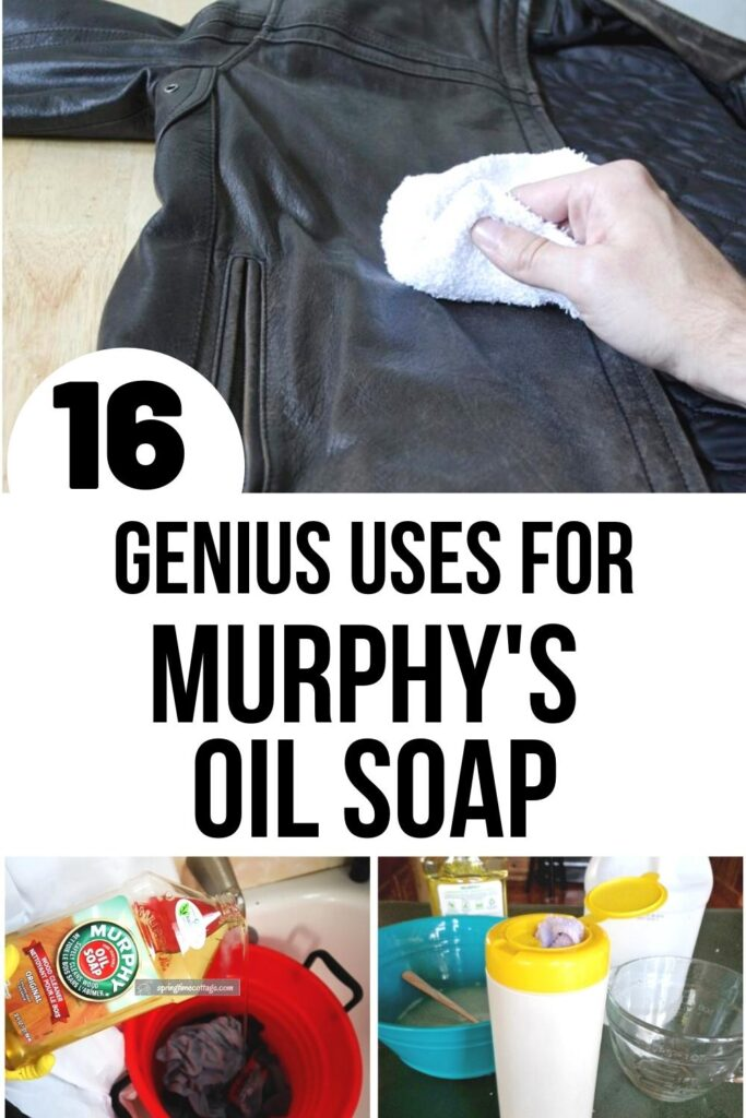 Murphy's Oil Soap uses pin image A