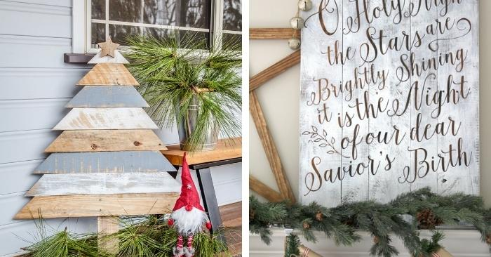 17 Christmas Pallet Ideas You Can Easily DIY